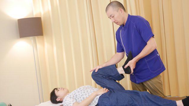 ぎっくり腰の施術